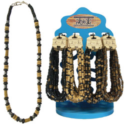 Tropical Jewelry Wood Bead Necklaces