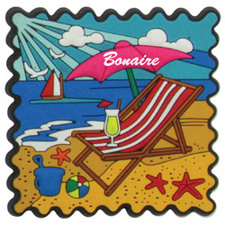 BEACH PVC STAMP MAGNETS