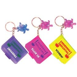 KEY CHAIN NOTE BOOK TURTLES