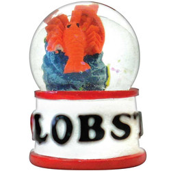 LOBSTER WATER GLOBE MAGNETS