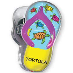 TURTLES, Sandal Acrylic Memo Clip Magnets
