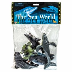 THE SEA WORLD ACTION FIGURES