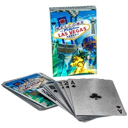 Metallic Playing Cards LAS VEGAS