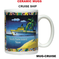 Cruise Ship Ceramic Mug
