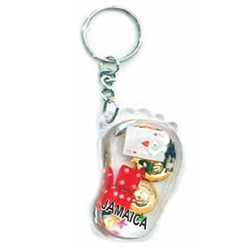 KEY CHAIN FLOATING CASINO FOOT