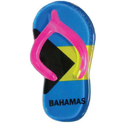 BAHAMAS FLAG SANDAL MAGNETS