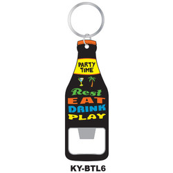 REST & EAT KEYCHAIN BOTTLE OPENER