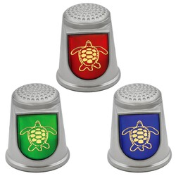 STAINLESS STEEL THIMBLES. TURTLE
