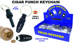 Cigar Punch Keychain