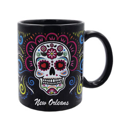 Full Wrap Souvenir Mugs Skull