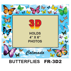 Butterflies 3D PHOTO FRAME