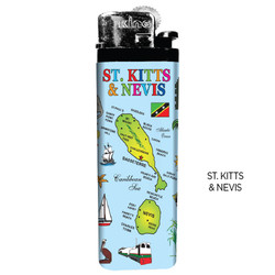ST. KITTS & NEVIS Map Lighters