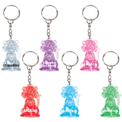 KEY CHAINS CRYSTAL TIGERS