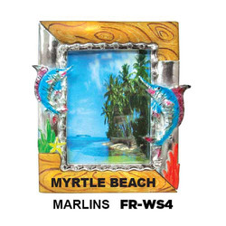 Tropical Enamel Photo Frames