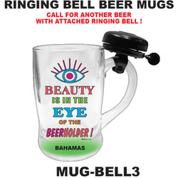Ringer Bell Beer Mugs