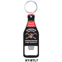 SURRENDER THE BOOTY KEYCHAIN BOTTLE OPENER
