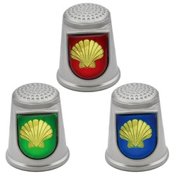 STAINLESS STEEL THIMBLES. SHELL