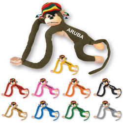 PLUSH RASTA MONKEY TOY