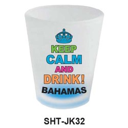 KEEP CALM & DRINK SHOT GLASS