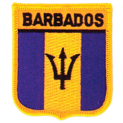Barbados Iron-On Embroidered Patch