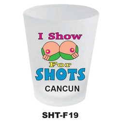 SOME LIKE IT HOT, NEON SHOT GLASS