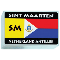 St. Maarten Flag Plastic Deck Playing Cards
