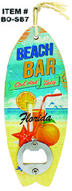 Surfboards Bottle Opener Florida