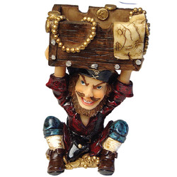 Pirate Ceramic Ashtray