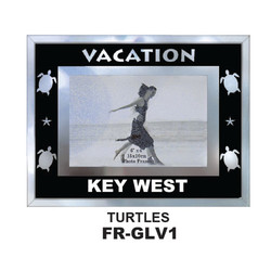 Vacation Glass Frames