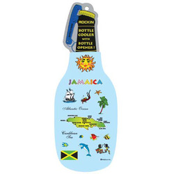 JAMAICA MAP BOTTLER COOLER