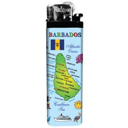 Barbados Map Lighter