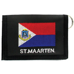 St. Maarten Souvenir Leather Wallet
