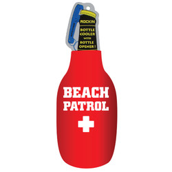 RED BEACH PATROL BOTTLE COOLER