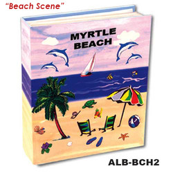 Beach Scene Small Photo Album