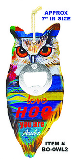 Owl Bottle Opener Aruba