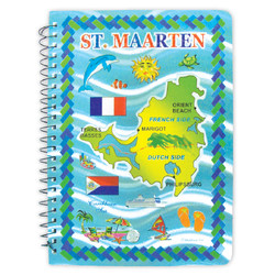 St. Maarten Foil Notebook