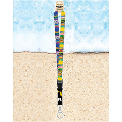Rockin Gear Lanyards Florida Retro