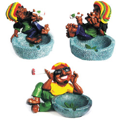 Rasta Blue Ashtray