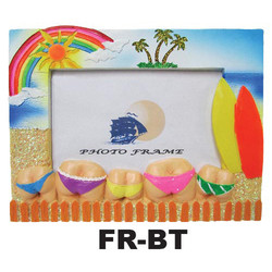 Flip Flops & Starfish Beach Photo Frames