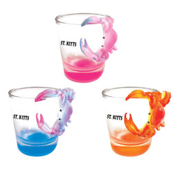 CRAB TOPPER SHOT GLASS