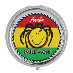 Smile Mon Rasta Foil Pill Box