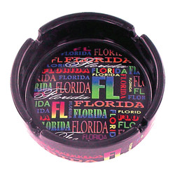 Florida Neon Signature Collection Ceramic Ashtray