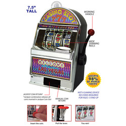 Las Vegas Slot Machine Bank