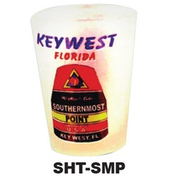 FLORIDA SOUTHERNMOST POINT SHOT GLASS
