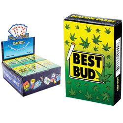 BEST BUD PLAYING CARD