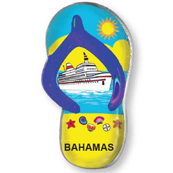 CRUISE SHIP SANDAL MAGNET