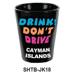 DRNK, DON'T DRIVE SHOT GLASS