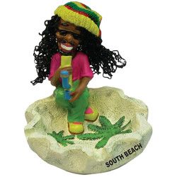 Rasta Bong Ceramic Ashtray