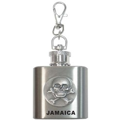 SKULL FLASK STAINLESS STEEL
