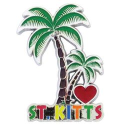 ST.KITTS PALM TREE MAGNET
